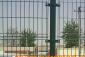 供应别墅园区护栏网、小区隔离栅、绿化隔离防护网、双丝夹丝护栏-亿久围栏网